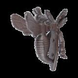 Esschert Design gietijzeren Bijendeurklopper handgegoten deurbel BEE009