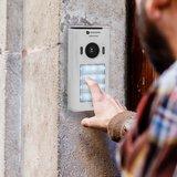 Smartwares DIC-22242 Video intercom systeem voor 4 appartementen buitenunit muur
