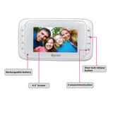 Byron DIC-22815 Draadloze video deurbel voorkant scherm functies
