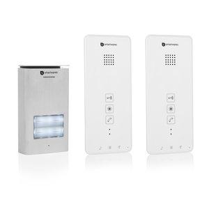 Smartwares DIC-21122 intercom voor 2 appartementen voorkant