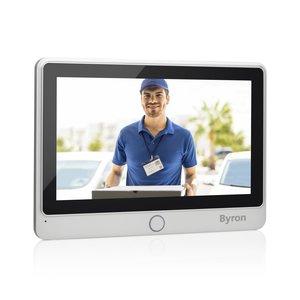 Byron DIC-24102 Uitbreidingsset voor bedrade video deurbel recht schuin rechts